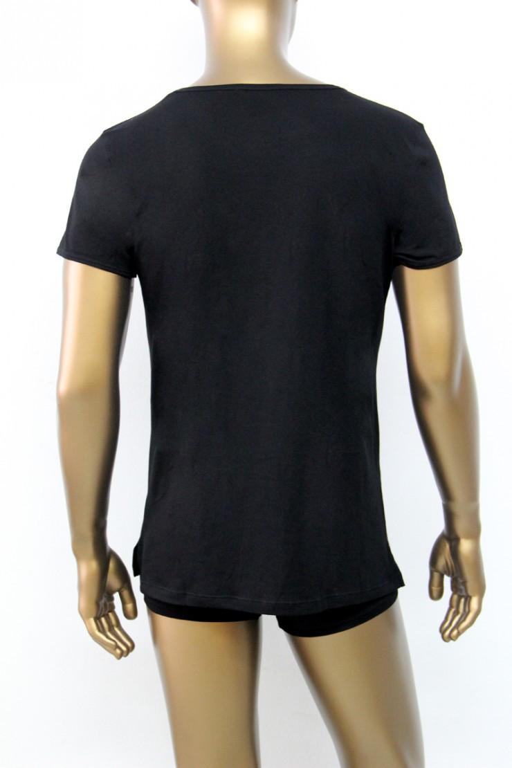 Ανδρική μπλούζα MED Pit - T-Shirt μαύρο με τύπωμα - Κοντό μανίκι