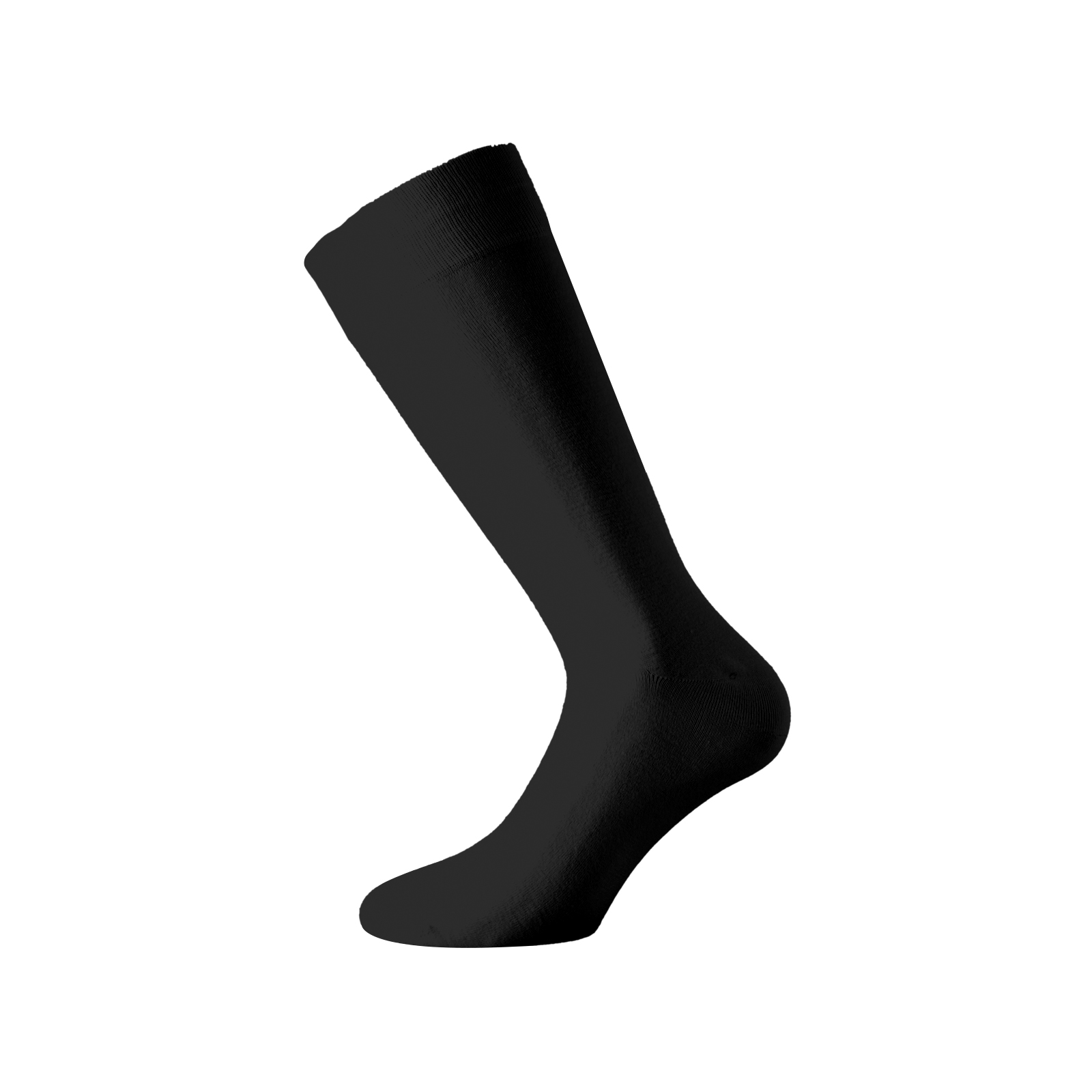 Walk Ανδρική κάλτσα - Bamboo - Aντιβακτηριδιακή δράση - Μαύρη