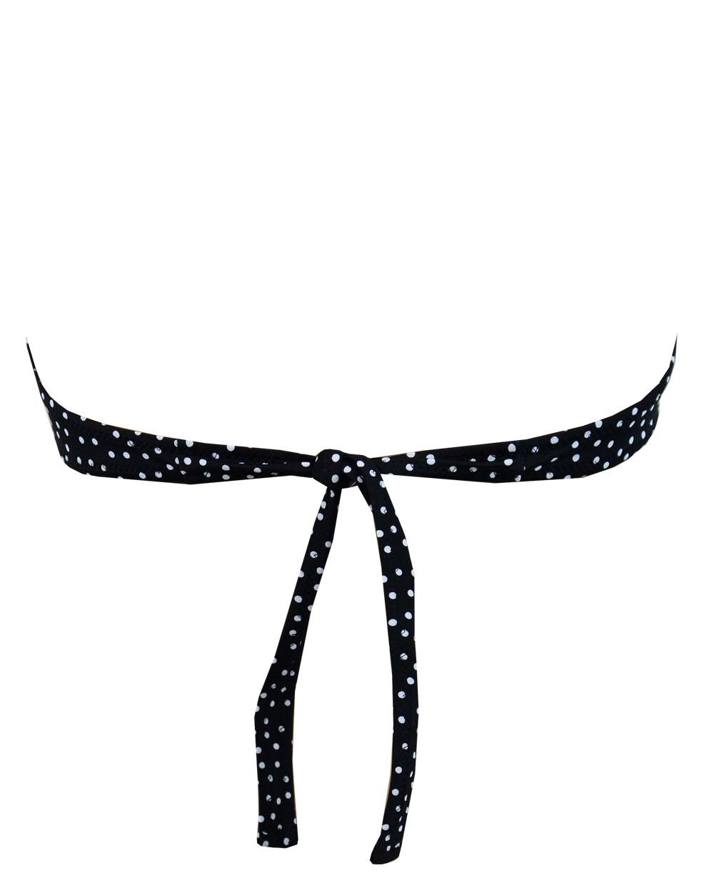 Μαγιό Strapless Rock Club - About Dot Print - Bikini push-up - Cup B
