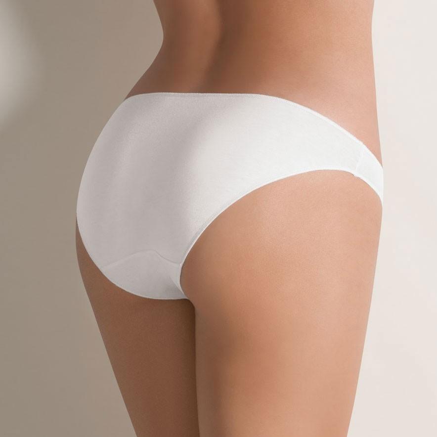 Γυναικείο mini slip Cotonella - Χαμηλόμεσο - Οικολογικό βαμβάκι - 3 pack