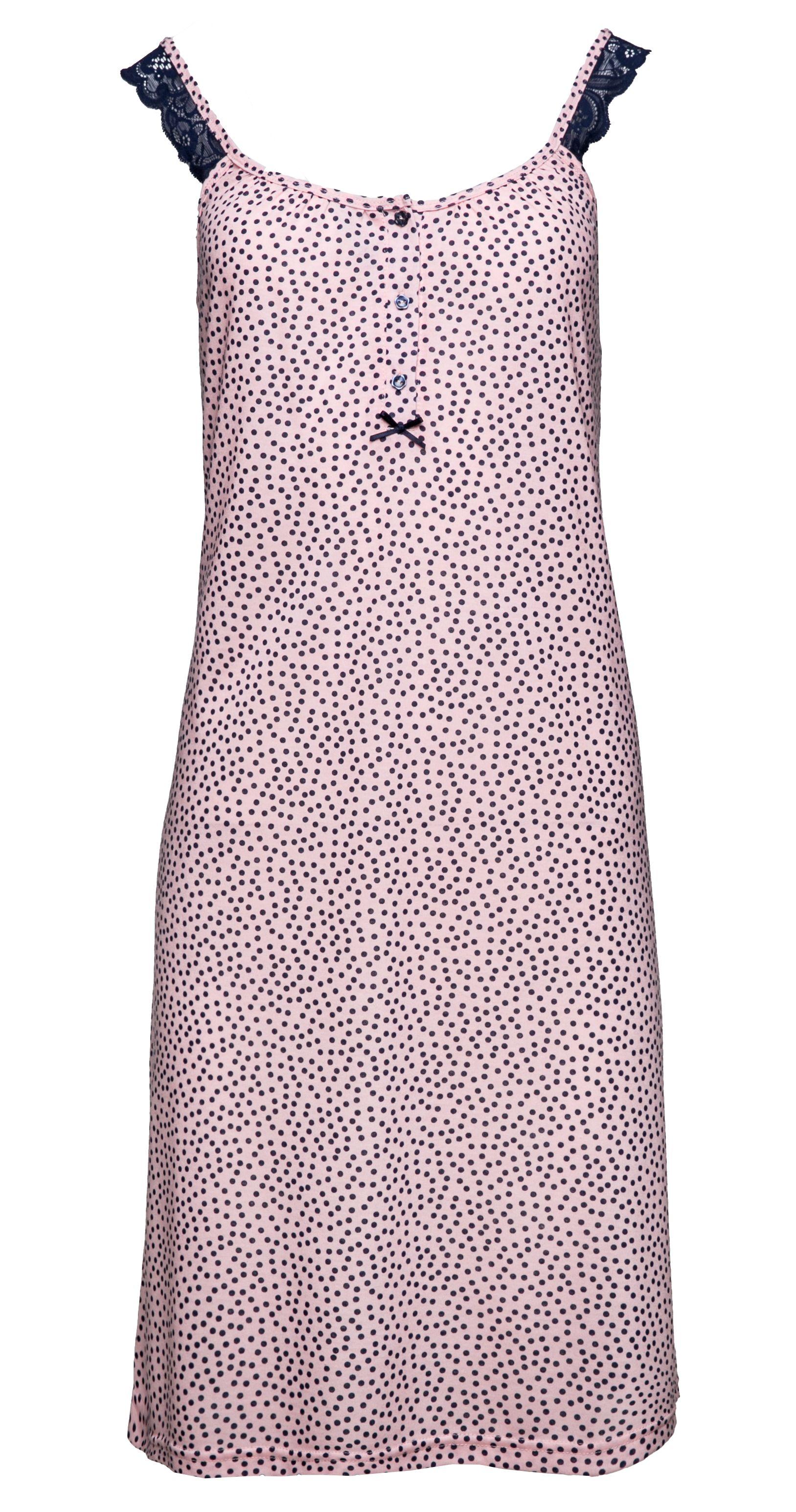 41d2986cf25b Γυναικεία Νυχτικό Pink Label - Cotton - Modal - Τιράντα - Εγκυμοσύνη ...