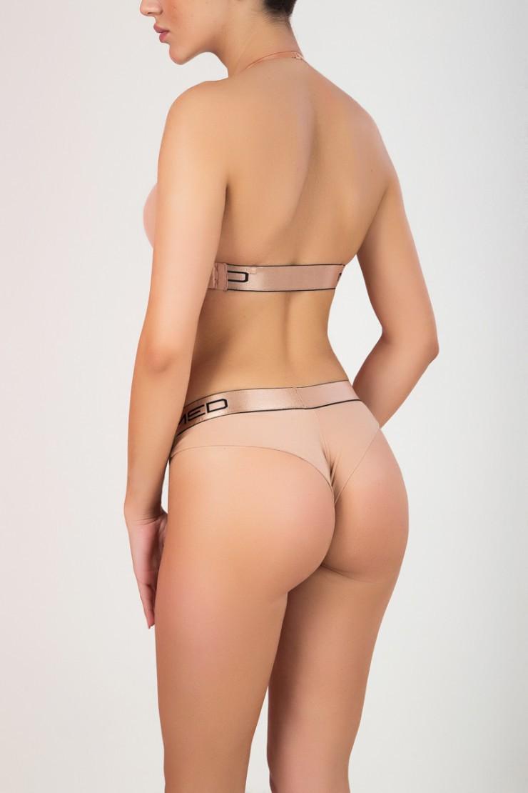 Γυναικείο Ροζ/Gold Brazil MED Kelly - Ροζ/Gold logo MED