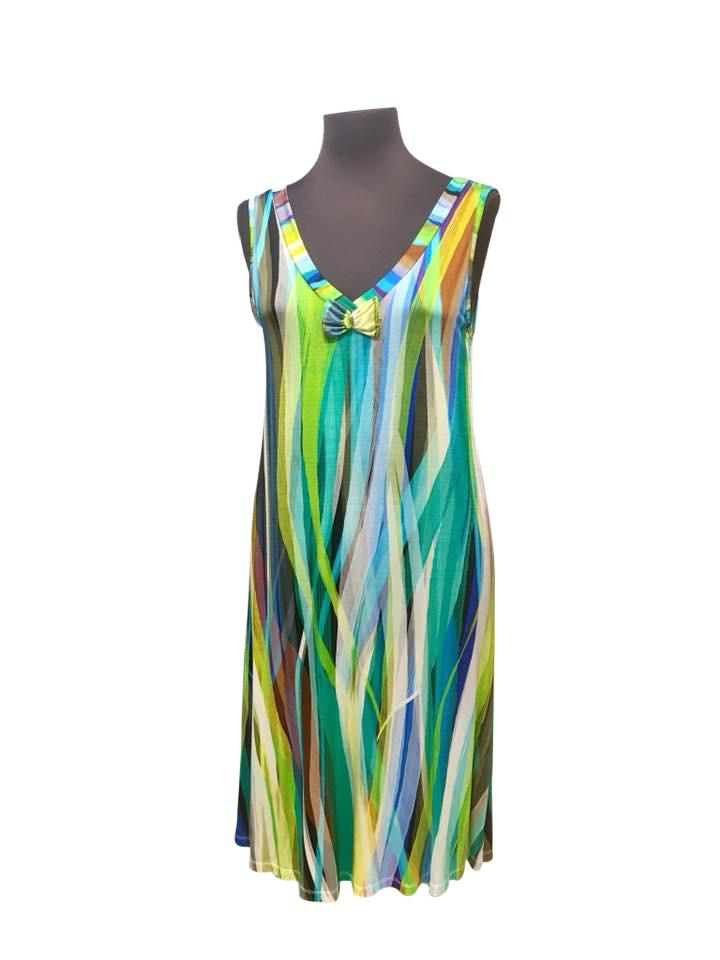 Φόρεμα Claire Katrania - Homewear midi - Αμάνικο