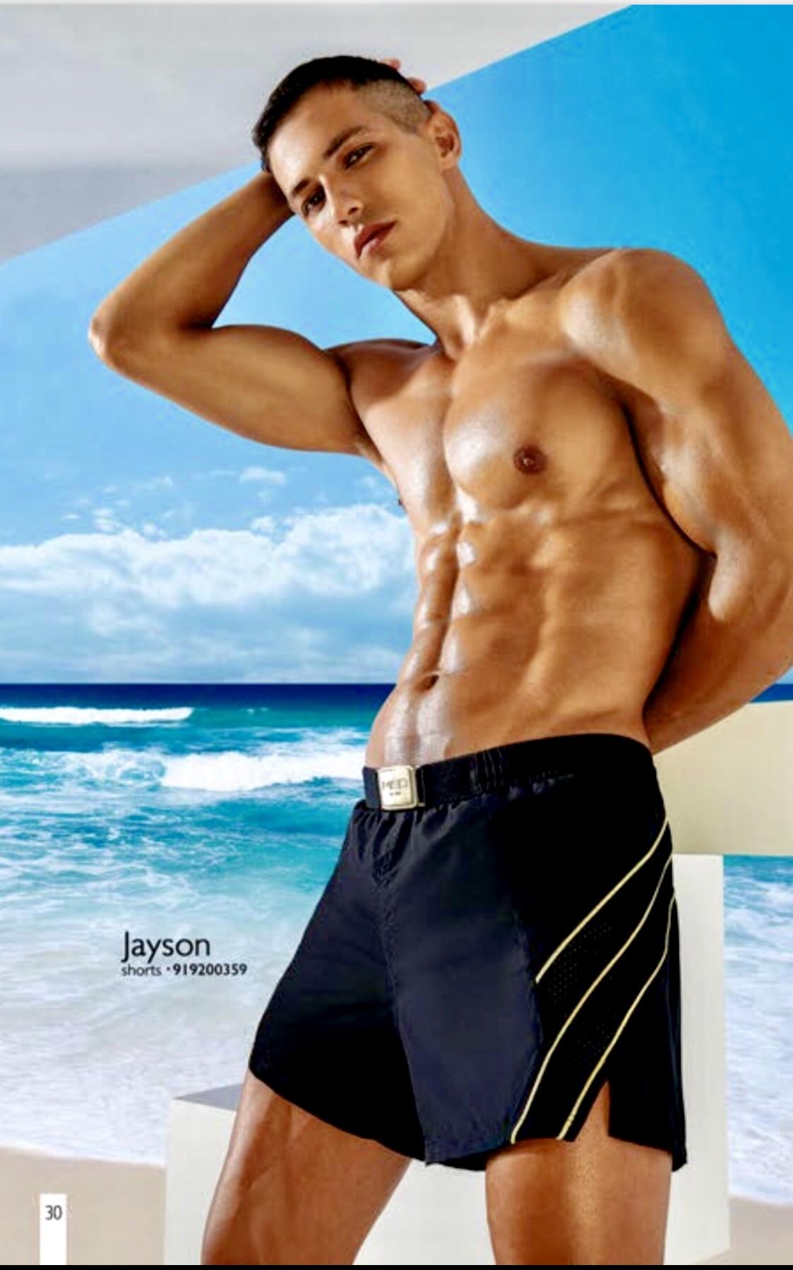 MED Ανδρικό Μαγιό Σορτς - Jayson  Shorts- Μαύρο