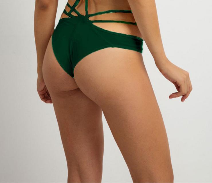 MED μαγιό σλιπ Samantha - Mix and Match Brazilian - Πράσινο