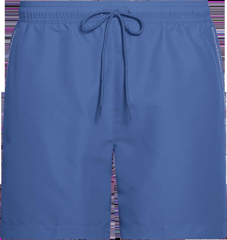 Ανδρικό Μαγιό Calvin Klein - Γαλάζιο - Βερμούδα με Logo