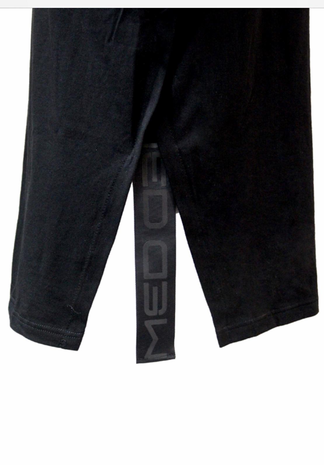 Ανδρικό T-Shirt  MED Logo Chris - Mαύρο - Κοντό Μανίκι