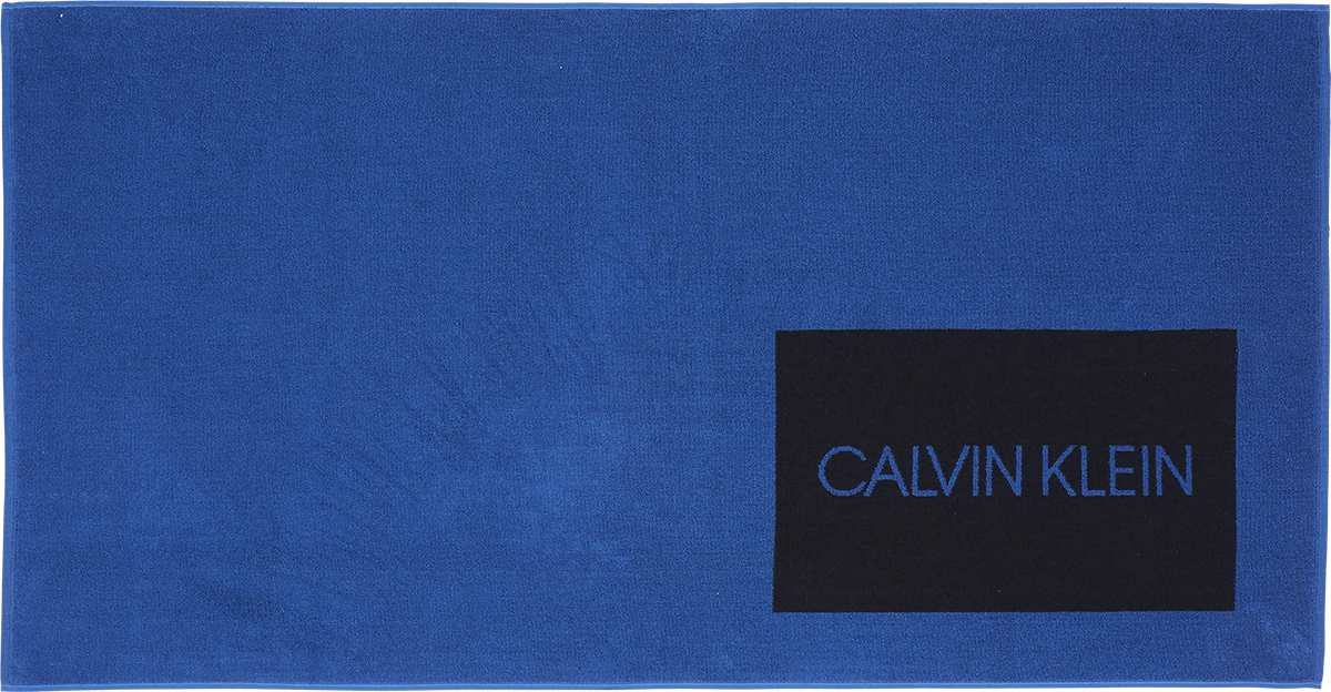 Calvin Klein Πετσέτα - Μπλε - 100% Βαμβακερή