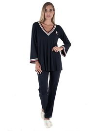 Γυναικείο Homewear Set Claire Katrania - Μπλε - Viscose